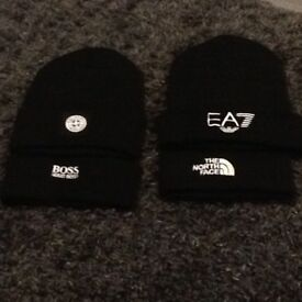Designer woolly hats
