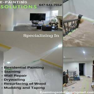 Residential painting and handyman services