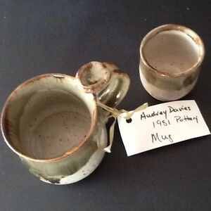 Ceramic Pottery by Renowned Local Artist Audry Davies
