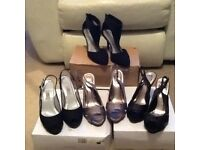 Party shoes. Size 6 and 6 1/2