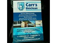 Window Cleaning, Car Valeting, Gutter Clearing.