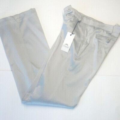 Pantalone donna taglia 40 42 44 46 elegante grigio dritti marca Ombretta Italia
