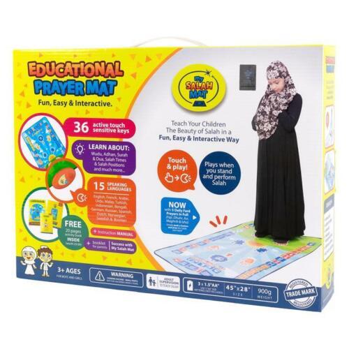 My Salah Mat - Educational Interactive Prayer Mat+Books for Children(15 Language
