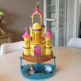 Sofia the first Castle, figure and dress