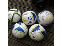 X5 Umbro Futsal Ball Used