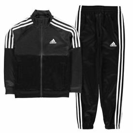 adidas tiberio child (13-14 years) tracksuit BRAND NEW WITH TAGS