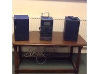 JVC micro sound system
