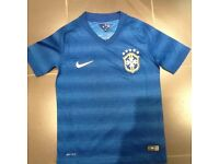 Brazil football top - 6-8yrs