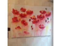 Canvas print Poppy