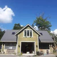 Get Your STEEL ROOF Now! Before The Winter!