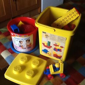 Lego Duplo 1501 and First Steps Bricks