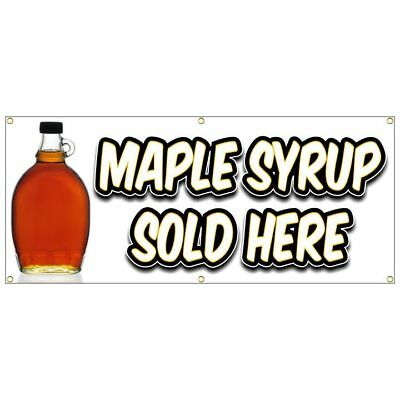 Maple Syrup Banner Bottle Grade A B Organic Jug Sap Bucket Taps Spouts Kit