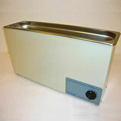 New Sonicor Stainless Steel Tabletop Ultrasonic Cleaner 2.5 Gal S-211t