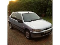 Peugeot 106 Zest 1L (perfect first car)