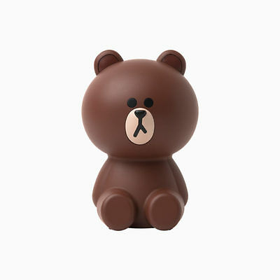 LINE FRIENDS Character AirSave BROWN Mini Air Cleaner Purifier Official Goods
