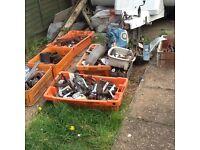 Scrap metal, old tools etc