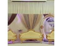 Side throne wedding sofa for sale