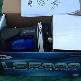 Boat fishing rod and brand new reel