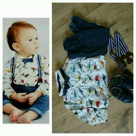 Next outfit with shoes 9-12 months