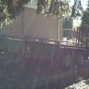 Heavy Duty Landscape Trailer