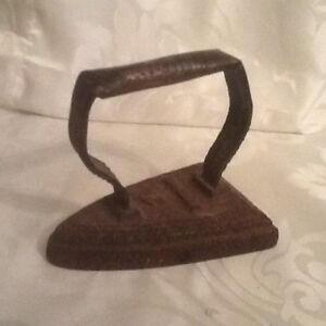 Vintage Antique Cast Iron Stove Iron