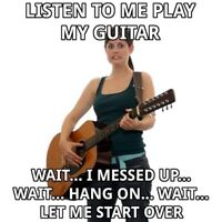 Looking for female guitar jam/practice buddy :)