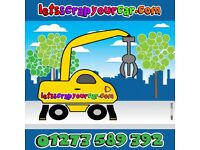 LetsScrapYourCar - MOT Failures / Accident Damaged / Non-Runners [All Scrap Vehicles Collected]