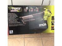 Ryobi power mulching blower vac air 1900 W speed of 320km/h,