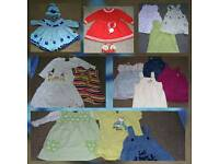Big bundle of around hundred baby girl clothes in perfect condition 0-6 months