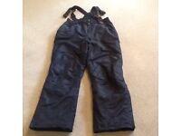 Dark blue ski pants