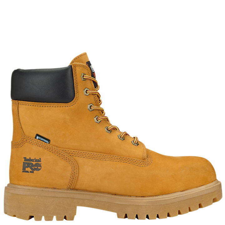 Timberland PRO Soft Toe Direct Attach 6 Inch Wheat Leather Work Boots  A22UK 1