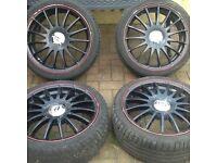 Ford Fiesta alloys 17 inc px for Ducato alloys
