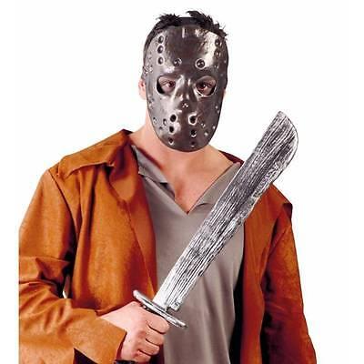 nd Machete Friday 13. Halloween Kostüm Erwachsene (Jason Maske Und Machete)