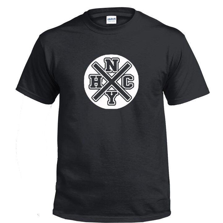 NEW YORK HARDCORE MUSIC T Shirt NYHC BLACK WHITE RED GREEN Tshirt STRAIGHT EDGE