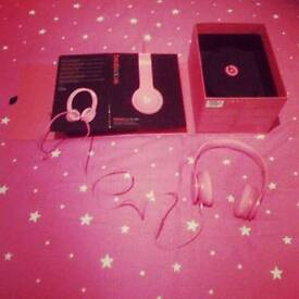 Hot Pink Beats New Condition Comes In Box Looking Fast Sale Today Please