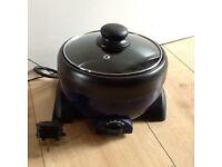 Mini slow cooker 1.2l capacity