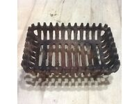 16 inch cast iron fire grate (used)