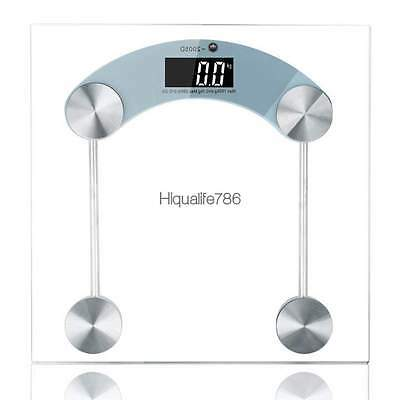Digital Lcd Glass Electronic Weight Body Gym Bath Bathroom Health Weighing Scale