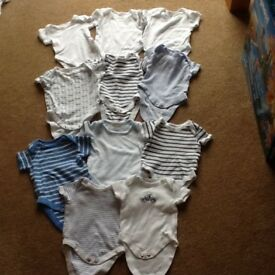 Newborn boys vests