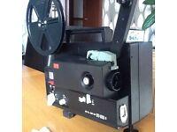 Super 8 magnetic sound projector