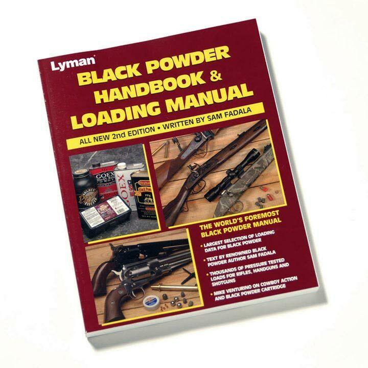 LYMAN 9827100 Lyman Black Powder Handbook 2nd Edition
