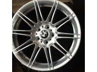 Bmw mv4 m sport alloy wheels.