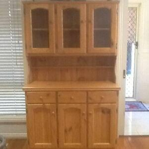 Baltic Pine Hutch Dresser - suitable for kitchen/dining room Sandringham Bayside Area Preview