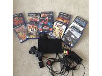 Play station 2 with 11 games