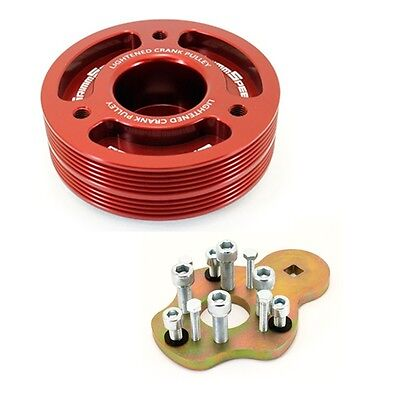 Grimmspeed Red Lightweight Crank Pulley  Removal Tool for All Subaru EJ20 EJ25
