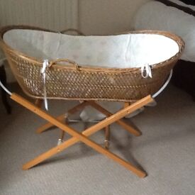 Baby's Whicker Basket