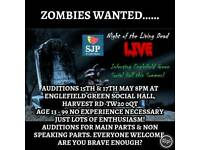 ZOMBIES WANTED