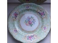 Bone china side plates