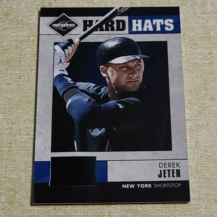2011 Limited Hard Hats DEREK JETER 70/90 Game-Worn Helmet Re