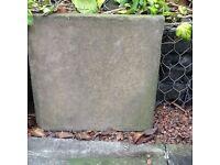 Garden slabs £20
